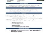 Resume format for Job Microsoft Word Free Download Cv format In Ms Word Fieldstationco