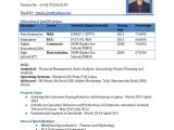 Resume format for Mba Freshers Free Download 13 Sample Resume Mba Fresher Zm Sample Resumes Zm
