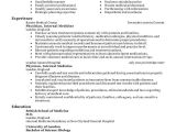 Resume format for Medical Job Best Doctor Resume Example Livecareer