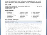 Resume format for Medical Job Medical assistant Sample Resume Sample Resumes