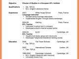 Resume format for Mr Job 7 Curriculum Proposal format Project Proposal