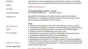 Resume format for Network Engineer Fresher Download 6 Network Engineer Resume Templates Psd Doc Pdf