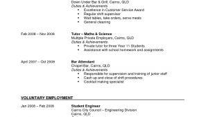 Resume format for Part Time Job Part Time Job Resume Examples 2019 Resume Examples 2019