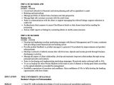 Resume format for Private Job Banker Resume Examples