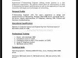 Resume format for Private Job Best Resume Template Sadamatsu Hp