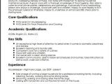 Resume format for Private Job Private Housekeeper Cv Sample Myperfectcv