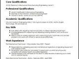 Resume format for Railway Job Mechanical Technician Cv Sample Myperfectcv