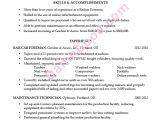 Resume format for Railway Job Resume Sample Rail Car foreman