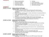 Resume format for Restaurant Job Best Restaurant Manager Resume Example Livecareer