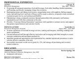 Resume format for Restaurant Job Resume Of Restaurant Manager