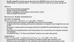 Resume format for Retail Job Retail Sales associate Resume Sample Writing Guide Rg