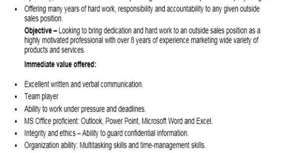Resume format for Sales Job 10 Sample Sales Job Resume Templates Pdf Doc Free
