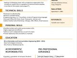 Resume format for Simple Graduate 30 Simple and Basic Resume Templates for All Jobseekers