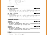 Resume format for Simple Graduate 5 Cv Template for Fresh Graduate theorynpractice