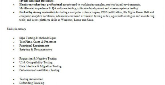 Resume format for software Tester Fresher 45 Fresher Resume Templates Pdf Doc Free Premium