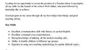 Resume format for Teacher Job In Word File Teacher Resume Sample 37 Free Word Pdf Documents