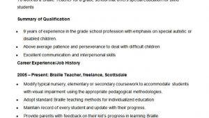 Resume format for Teachers Job In Word format 51 Teacher Resume Templates Free Sample Example format