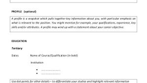 Resume format for Teaching Job Fresher 8 Teaching Fresher Resume Templates Pdf Doc Free