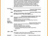 Resume format In English Word 7 English Resume format On Microsoft Word Penn Working
