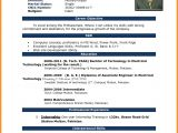 Resume format In Word File with Photo 5 Cv Samples Word File Download theorynpractice