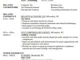 Resume format In Word for Accountant Free 11 Sample Accounting Resume Templates In Ms Word