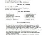 Resume format In Word for Accountant Free 14 Accounting Resume Templates In Free Samples