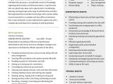 Resume format In Word for Admin Executive Executive Administrative assistant Resume 10 Free Word