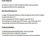 Resume format In Word for Hotel Management Fresher 43 Professional Fresher Resumes