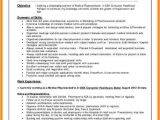 Resume format In Word for Medical Representative 5 Cv Of Medical Representative theorynpractice