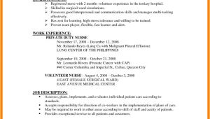 Resume format Sample for Job Application 8 Cv Sample for Job Application theorynpractice