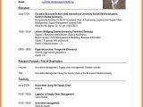 Resume format Template Pdf 8 Latest Curriculum Vitae format Edu Techation
