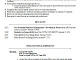 Resume format Word for Banking Sector Over 10000 Cv and Resume Samples with Free Download Mba