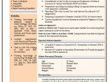 Resume format Word for Experienced Resume Sample for Experienced Chartered Accountant 2