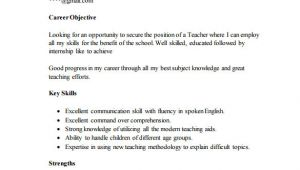 Resume format Word for Freshers Teachers Resume Template for Fresher 10 Free Word Excel Pdf
