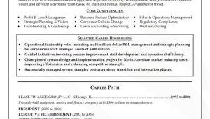 Resume format Word for Senior Management Position top Resume format for Senior Management Position Senior