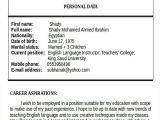 Resume format Word Teacher 25 Teacher Resume Templates In Word Free Premium