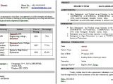 Resume In Job Interview Resume format for Job Interview Letters Free Sample