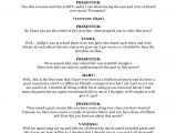 Resume Job Interview Dialogue Example Script for Tv Interview
