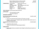 Resume Maker for Students Best Current College Student Resume with No Experience