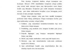 Resume Menjadi Guru Profesional Menjadi Guru Profesional