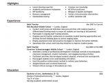 Resume Model for Job Interview 10 Example Of Applicant Resume for Teacher Penn Working