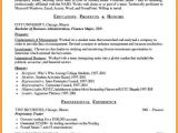 Resume Model for Students 10 Example Of A Student Curriculum Vitae Penn Working