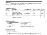 Resume Model for Students Achievements In Resume Examples for Freshers Achievements