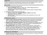 Resume Objective for College Student 3 4 Sample College Resume Resumename Com