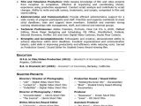 Resume Objective for Research Student Academic Skill Conversion Film and Television Production