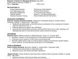 Resume Objective for Research Student Sample Undergraduate Research assistant Resume Sample ĺ