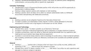 Resume Objective Sample General Resume Objective Sample 9 Examples In Pdf