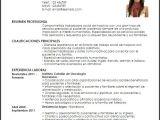 Resume Profesional De Trabajo social Modelo Curriculum Vitae Trabajadora social De Hospicio