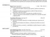 Resume Profesional Puerto Rico Como Escribir Un Curriculum Vitae Cronologico Curriculum