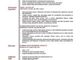 Resume Profile Samples Sample Resume Profile Jennywashere Com
